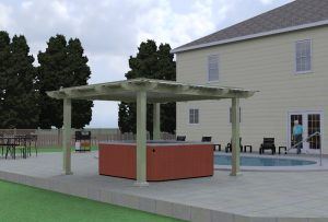 Outdoor Cabana Structures Sewell & Manahawkin NJ